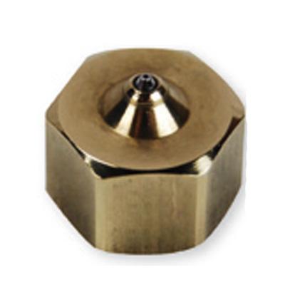 Nozzle recht 1-gats kort capillair